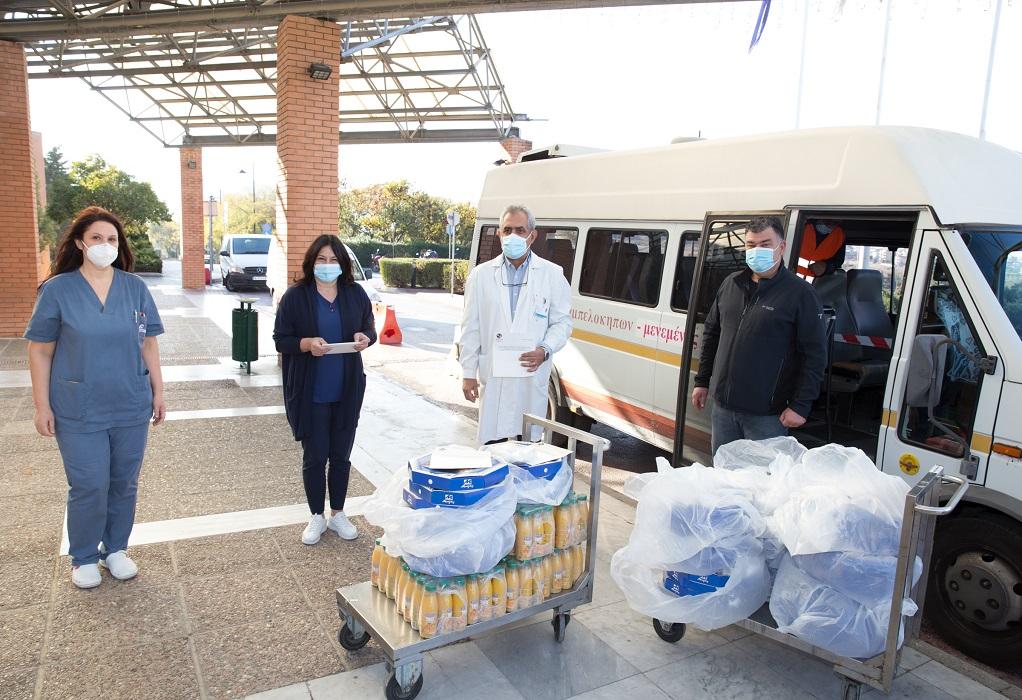 Κορωνοϊός: Προσφορά πρωινού προς το προσωπικό του «Παπαγεωργίου»