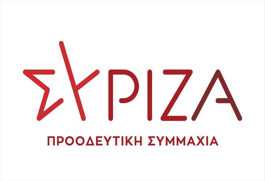 ΣΥΡΙΖΑ: Ο κ. Μητσοτάκης σύρεται πίσω από την πρόταση μας για τα φάρμακα των χαμηλοσυνταξιούχων