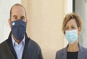 Επίσκεψη Τζανακόπουλου και Γεροβασίλη στο νοσοκομείο «Σωτηρία»