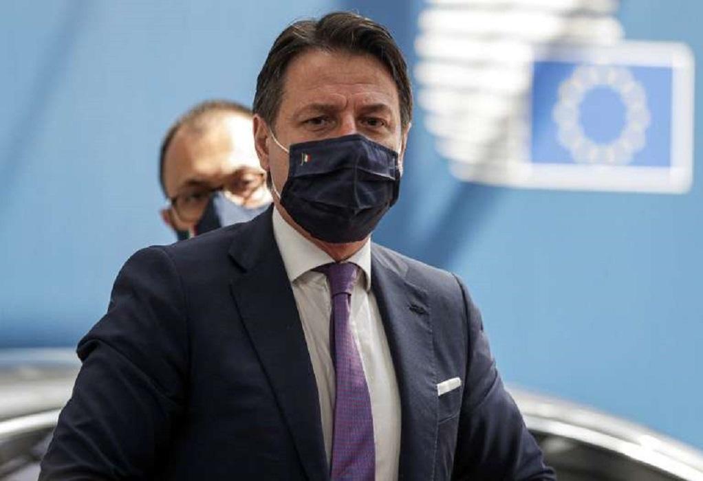 Ιταλία: Κάλεσμα Κόντε «σε όσους ενδιαφέρονται για το μέλλον της χώρας»