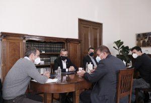 Ζέρβας – Τζιτζικώστας: Προσεκτικά η άρση του lockdown – Τι συζήτησαν με Μητσοτάκη (VIDEO)