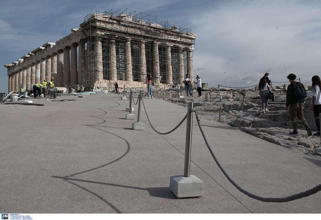 Στην τελική ευθεία το ρεκτιφιέ της Ακρόπολης – Δείτε τις αλλαγές