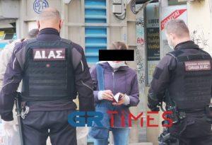 Lockdown στη Θεσσαλονίκη: Έλεγχοι για sms και βεβαιώσεις (ΦΩΤΟ+VIDEO)