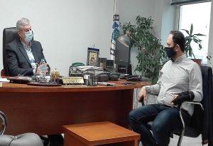 Επίσκεψη Γ. Δαρδαμανέλη στην Γενική Αστυνομική Διεύθυνση Θεσσαλονίκης