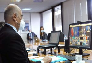 Άμεσα μέτρα για τη Τουρκία ζήτησε από τους ομολόγους του ο Νικ. Δένδιας