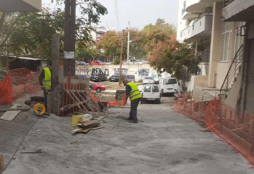 «Μαραθώνιος» επεμβάσεων στους δρόμους της πόλης από τον Δ. Θεσσαλονίκης