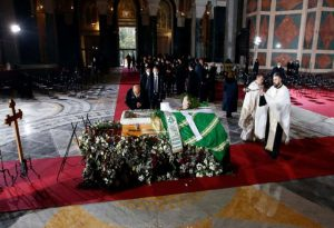 Κηδεύτηκε ο Πατριάρχης της Σερβίας Ειρηναίος