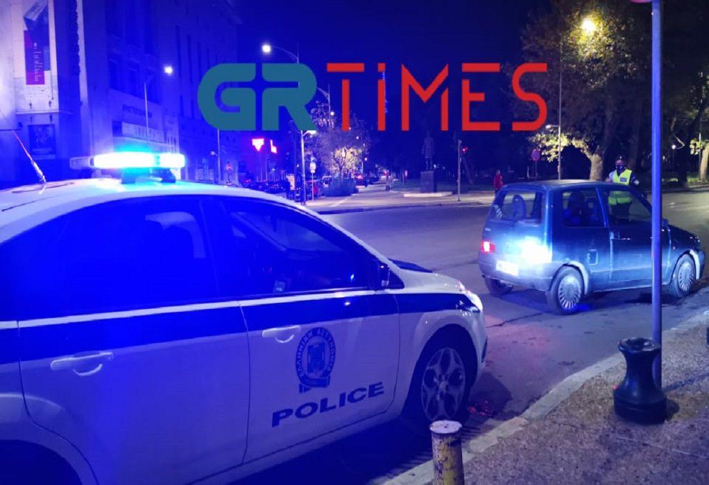Lockdown – Θεσσαλονίκη: Συνεχείς οι έλεγχοι της ΕΛ.ΑΣ. – Δείτε βίντεο