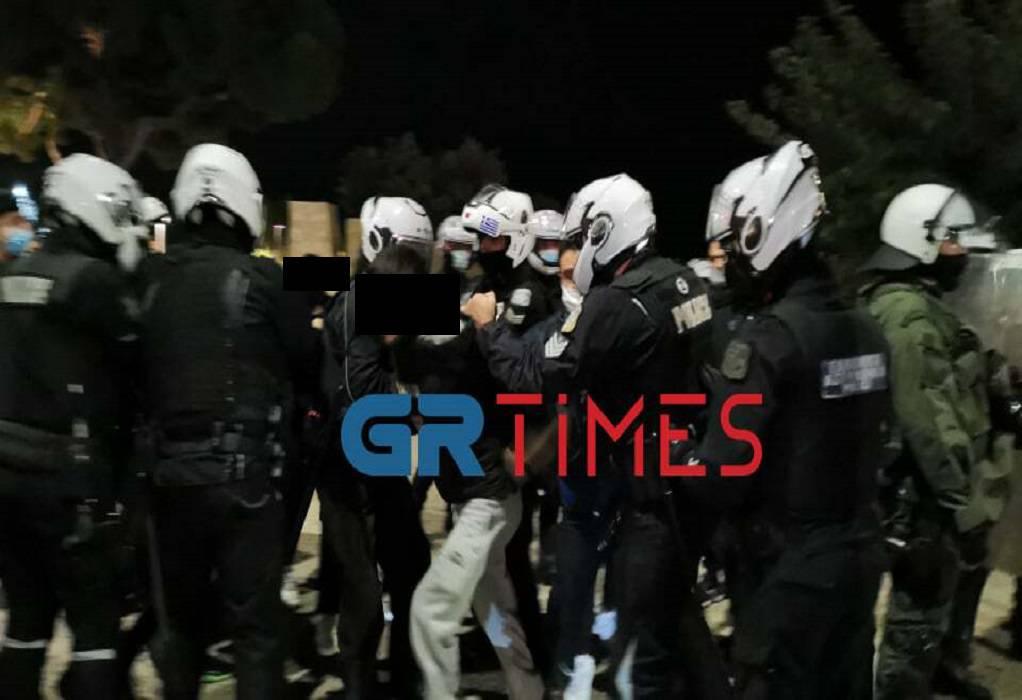 Θεσσαλονίκη: Κυνηγητό ΕΛ.ΑΣ. σε συγκέντρωση κατά του lockdown (ΦΩΤΟ-VIDEO)