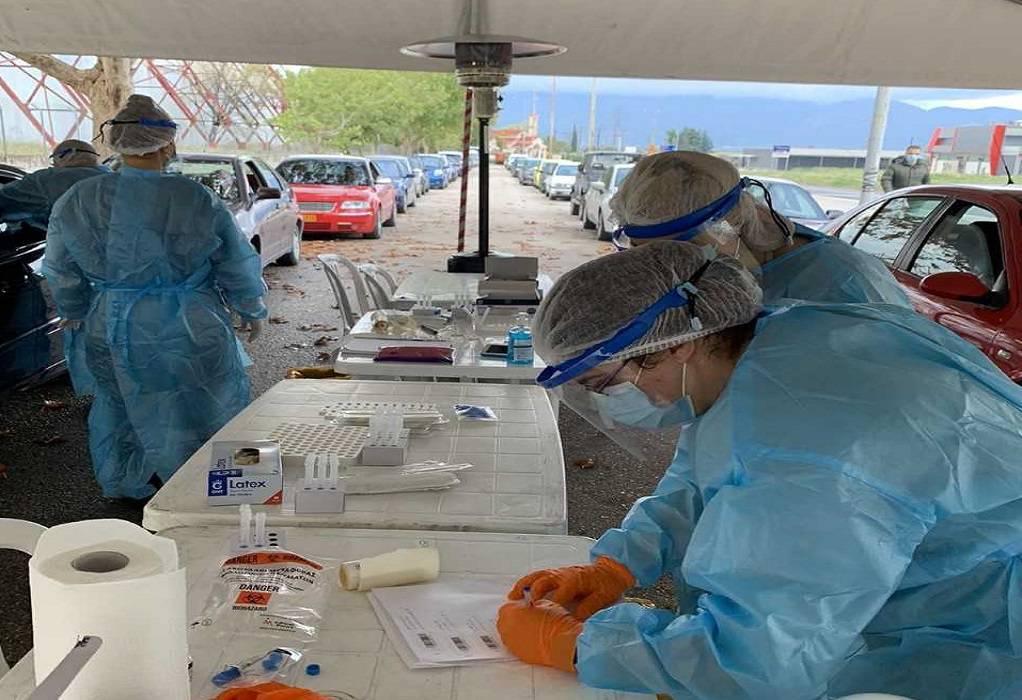 Δωρεάν Rapid Tests στην Ιερισσό την Τρίτη 22/12