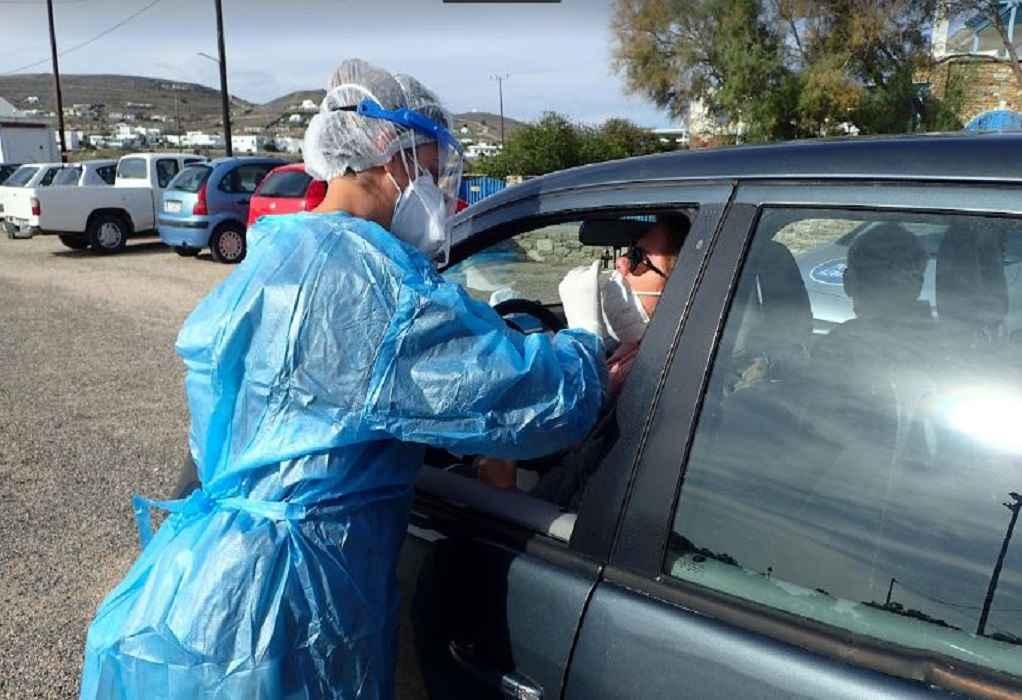 Δωρεάν rapid tests drive through από τον ΕΟΔΥ – 41 κρούσματα