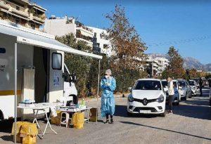 ΕΟΔΥ: 25 κρούσματα κορωνοϊού σε 974 rapid test