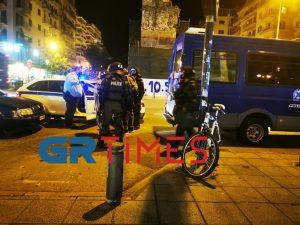 Επεισόδια – Θεσσαλονίκη: Δύο αστυνομικοί τραυματίες και έντεκα προσαγωγές