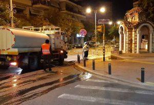 Θεσσαλονίκη: Επιχείρηση καθαριότητας στον άξονα της Ολυμπιάδος (ΦΩΤΟ)