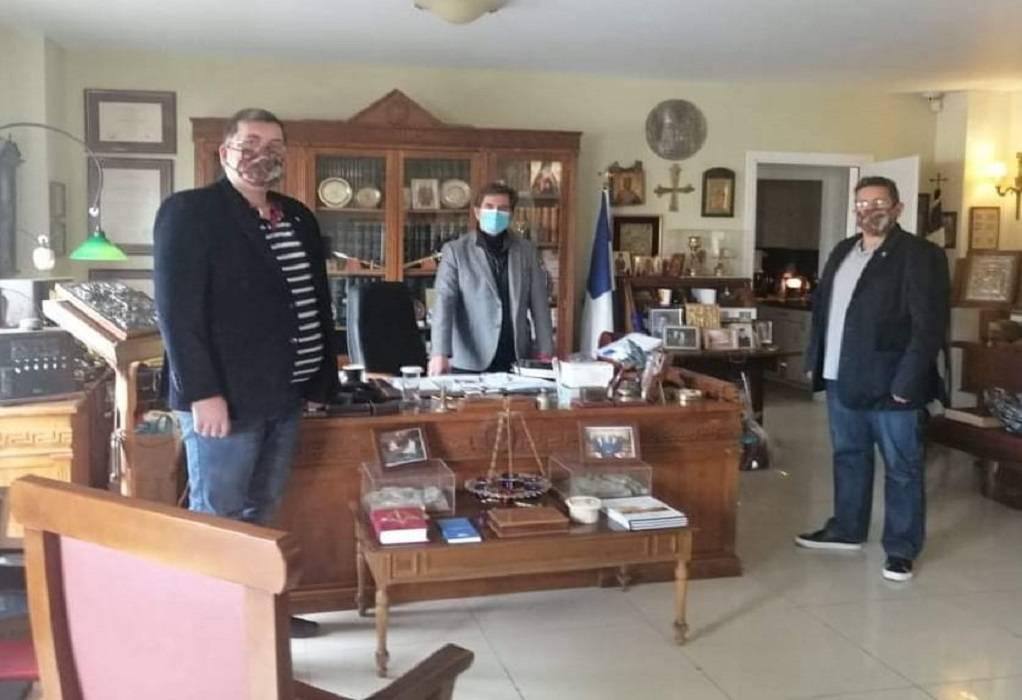 ΕΣΠΕΕΘ: Συνάντηση με τον Κ. Γκιουλέκα