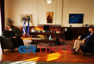 Στη Θεσσαλονίκη ο διοικητής της Εθνικής Αρχής Διαφάνειας – Συνάντηση με Καράογλου (ΦΩΤΟ+VIDEO)