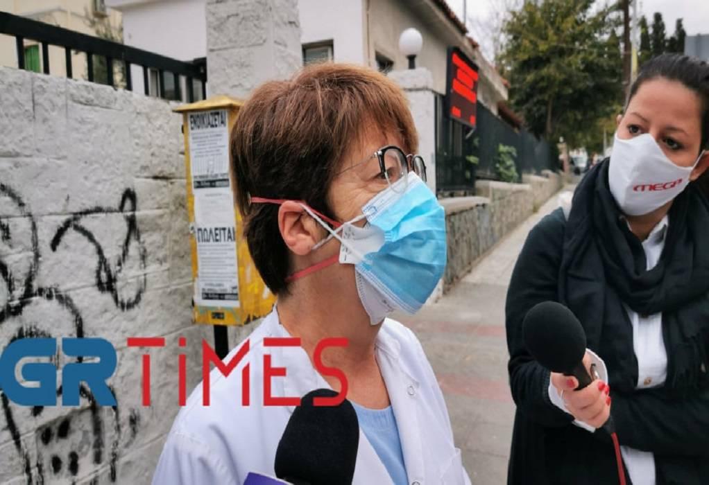 Κατσίμπα: Γεμάτες οι κλινικές και ΜΕΘ covid (ΗΧΗΤΙΚΟ)
