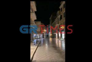 Έρημοι δρόμοι στην Κέρκυρα και χωρίς lockdown (VIDEO)