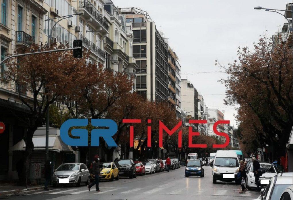 Θεσσαλονίκη: Κίνηση σαν… να μην υπάρχει lockdown (ΦΩΤΟ-VIDEO)