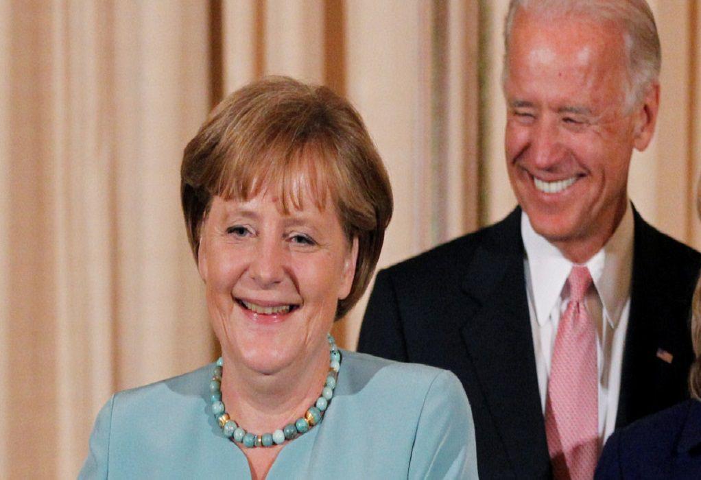 Επικοινωνία Μέρκελ – Μπάιντεν: Συμφώνησαν για διμερή συνεργασία