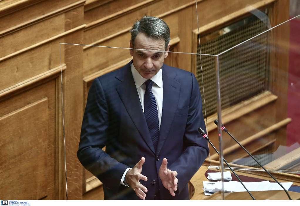 Συζήτηση στη Βουλή σε επίπεδο πολιτικών αρχηγών για τη διαχείριση της πανδημίας