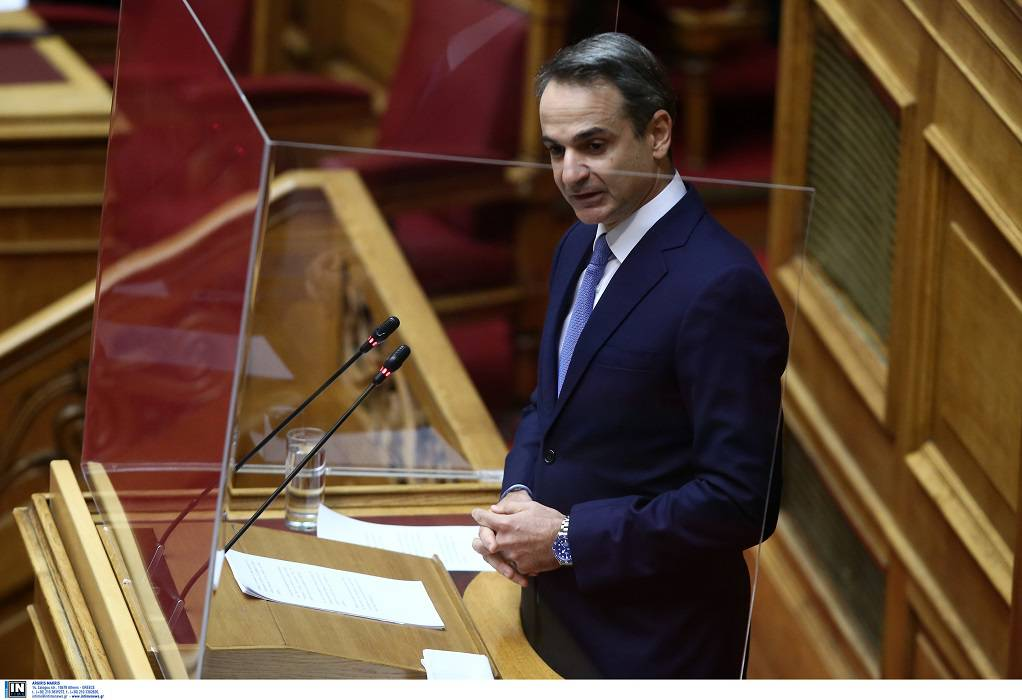 Δείτε Live τη δευτερολογία του Κ. Μητσοτάκη στη Βουλή