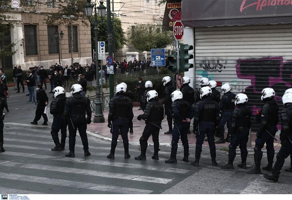 Χωρίς πορείες η επέτειος Γρηγορόπουλου – 5.000 αστυνομικοί επί ποδός