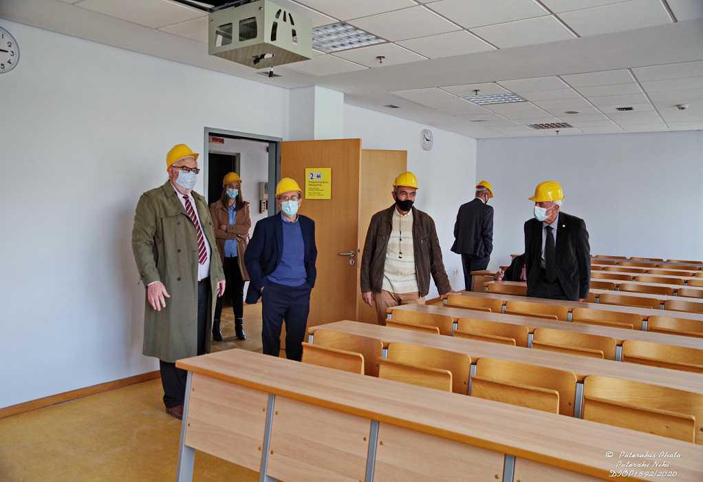 Πανεπιστήμιο Πειραιώς: Προχωρούν οι εργασίες για μετεγκατάσταση στο «Σπίτι της Άρσης Βαρών»