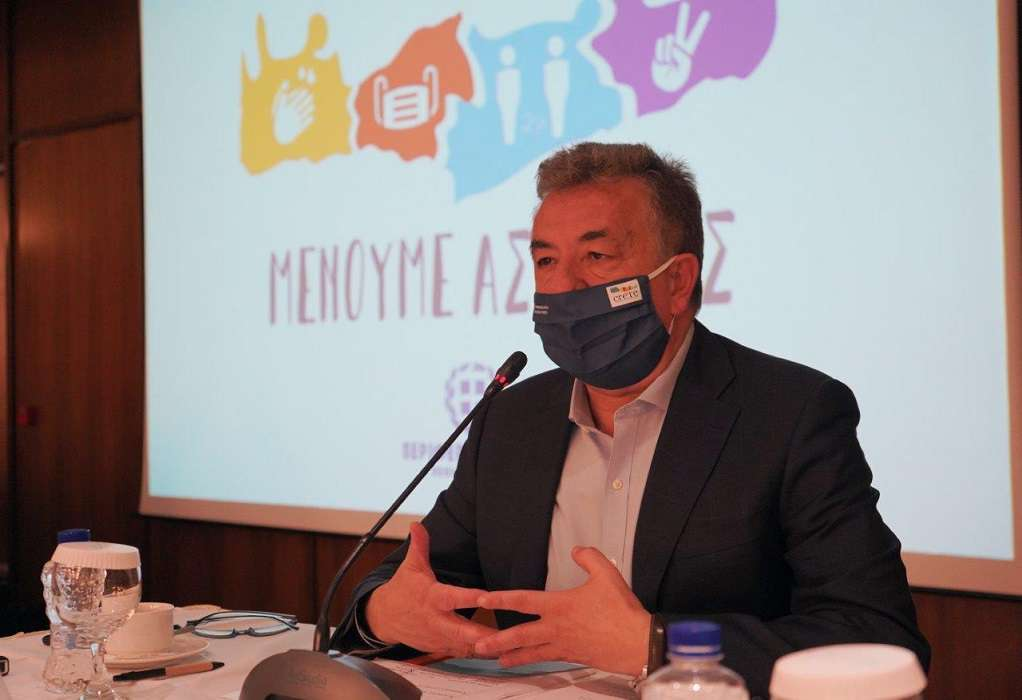Περιφέρεια Κρήτης: Ενεργή στήριξη για την αντιμετώπιση της πανδημίας