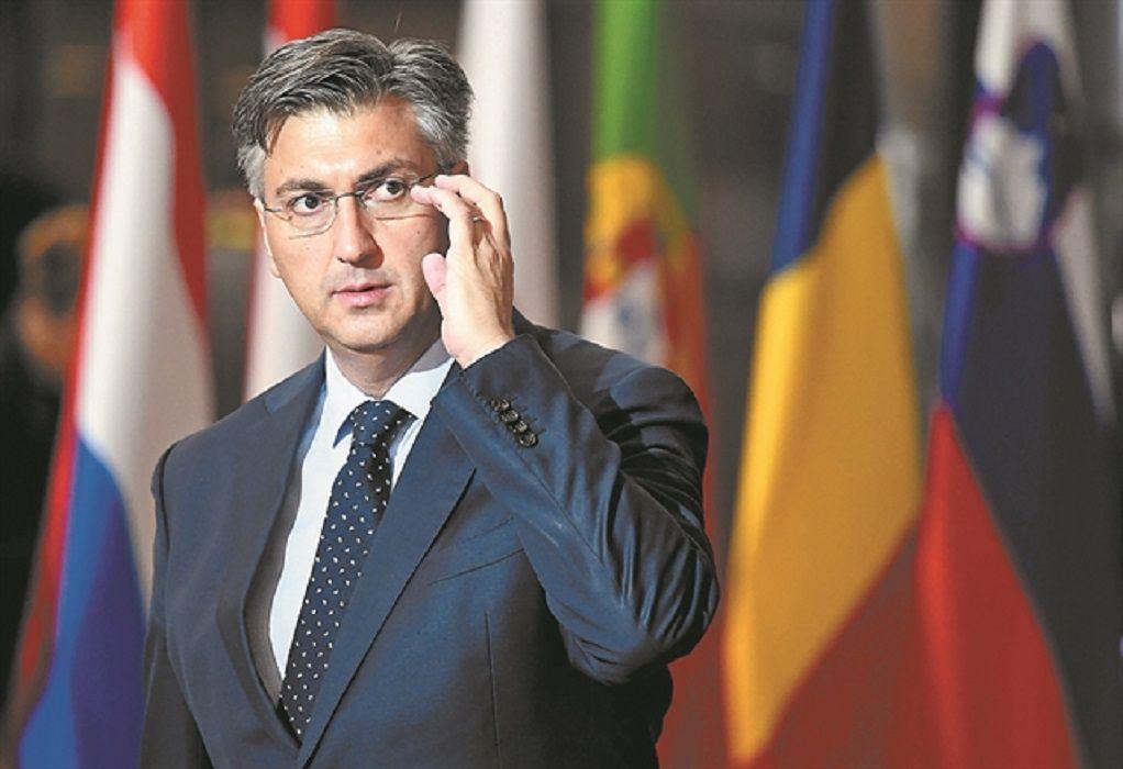 Κορωνοϊός: Θετικός ο πρωθυπουργός της Κροατίας