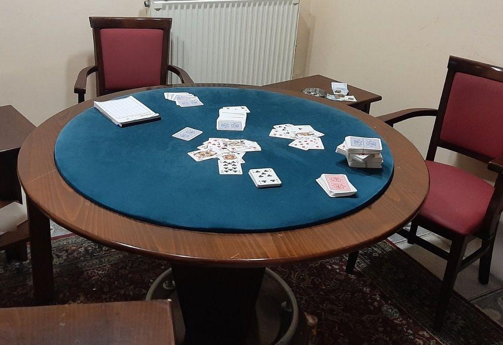 Γιαννιτσά: Έκαναν το γραφείο… «καζίνο»- Έξι συλλήψεις