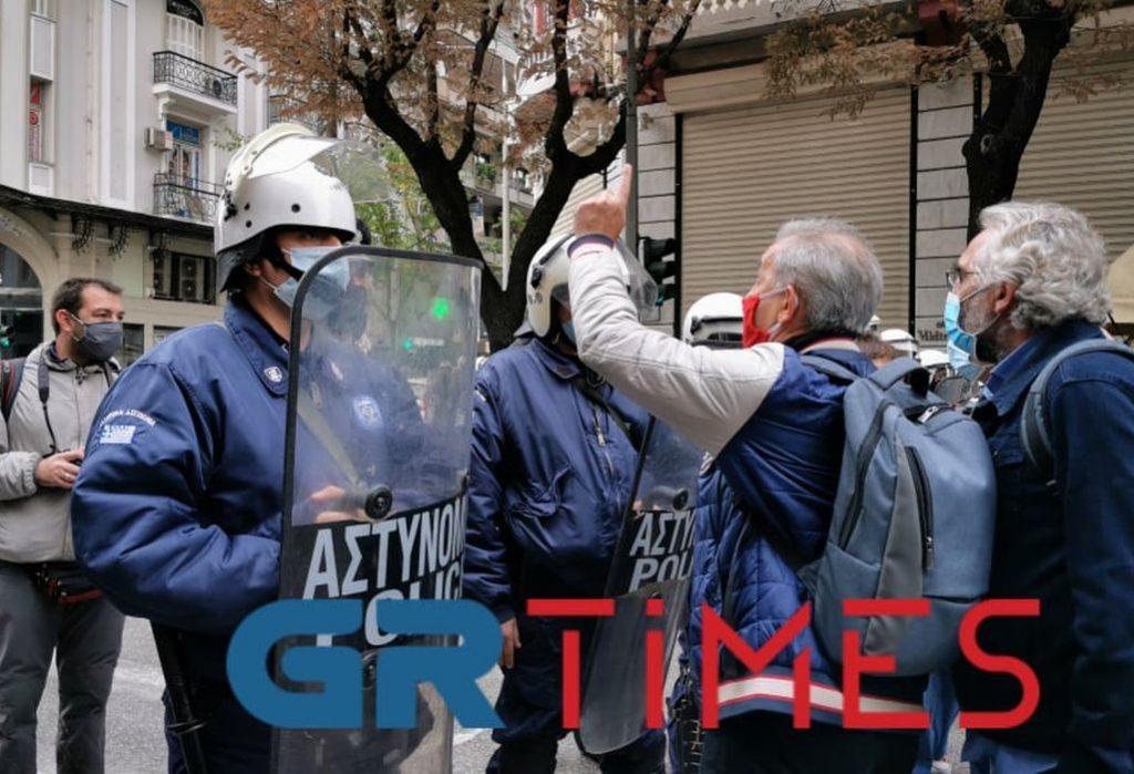 Θεσσαλονίκη: Δεκάδες προσαγωγές σε κινητοποίηση για το Πολυτεχνείο (VIDEO/ΦΩΤΟ)