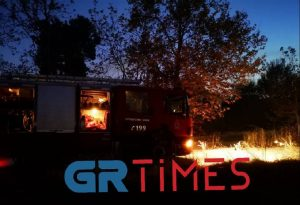 Συναγερμός στην Πυροσβεστική – Φωτιά στη Θεσσαλονίκη