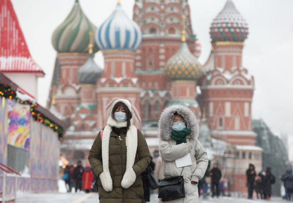 Ρωσία: Πάνω από 8.000 νέα κρούσματα κορωνοϊού