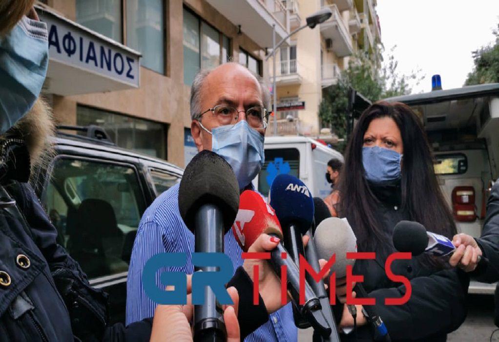 Σαραφιανός: Τέλος της εβδομάδας ασθενείς με covid (VIDEO)