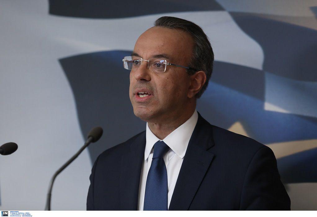 Σταϊκούρας: Από την ερχόμενη εβδομάδα θα αρχίσουν οι καταβολές για την «επιστρεπτέα προκαταβολή 5»