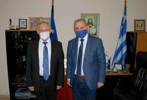 Επίσκεψη Γενικού Προξένου της Ρωσίας στη Θεσσαλονίκη στο Δημαρχείο Λαγκαδά