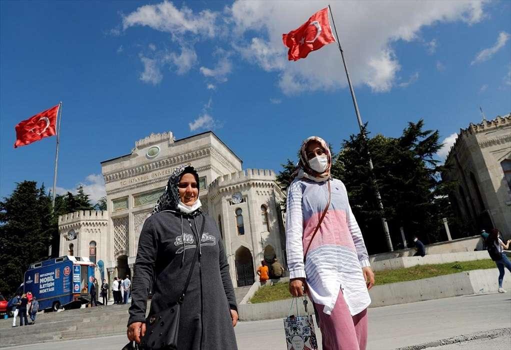 Kαθολική καραντίνα στην Τουρκία για το Σαββατοκύριακο