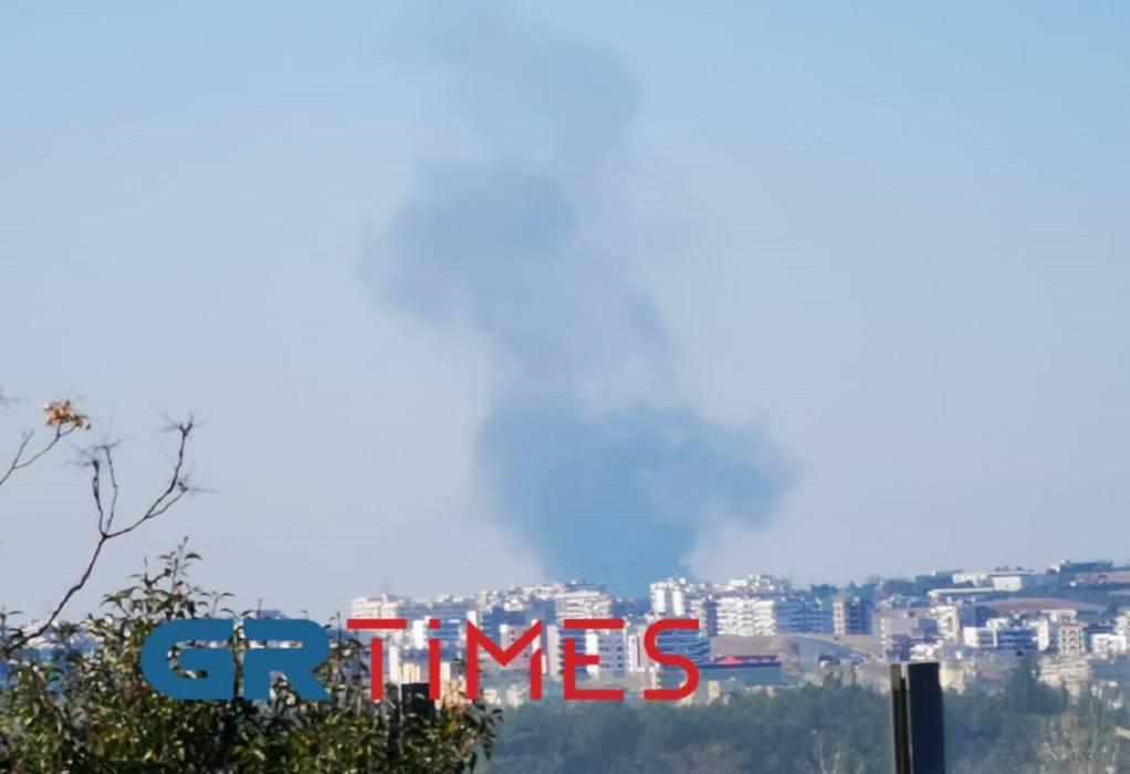 Συναγερμός στην Πυροσβεστική – Φωτιά στη Θεσσαλονίκη (ΦΩΤΟ-VIDEO)