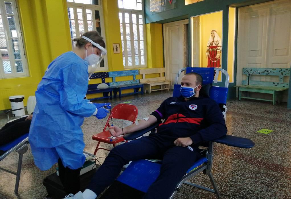 Χ.Α.Ν.Θ: Στους 150 οι εθελοντές αιμοδότες
