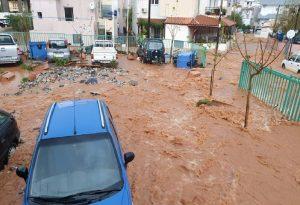 Εικόνες βιβλικής καταστροφής στην Κρήτη (VIDEO)