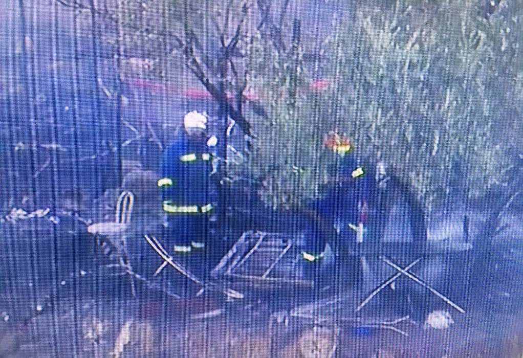 Πυρκαγιά στο υπαίθριο hotspot της Σάμου