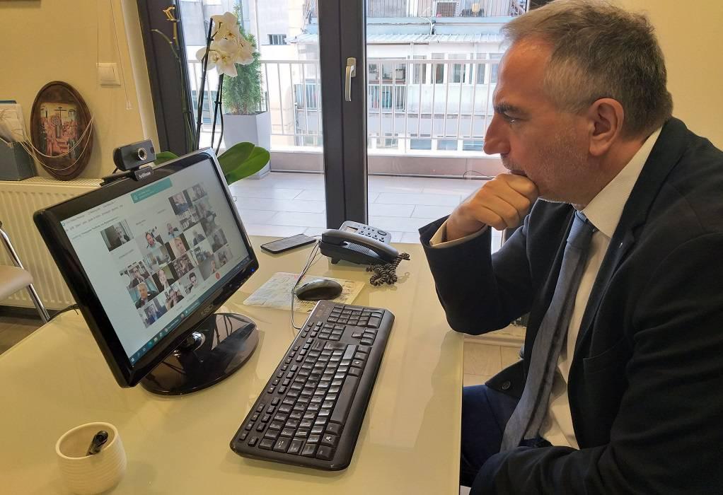 Στ. Καλαφάτης: Με τηλεδιάσκεψη η ενημέρωση Βουλευτών από Υπουργούς
