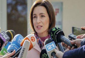 Η Μάγια Σάντο εξελέγη πρόεδρος της Μολδαβίας