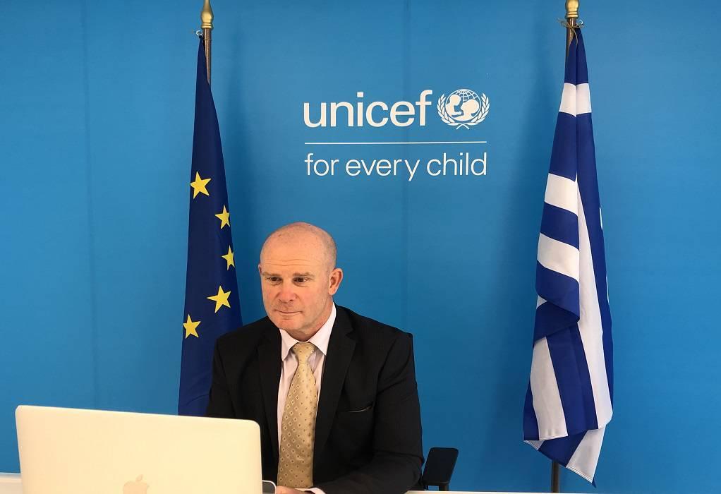 Η UNICEF ιδρύει γραφείο στην Ελλάδα