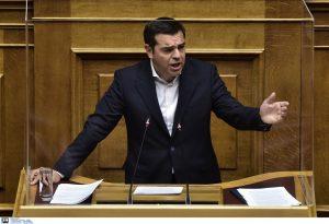 Δείτε LIVE την ομιλία του Αλ. Τσίπρα στη Βουλή