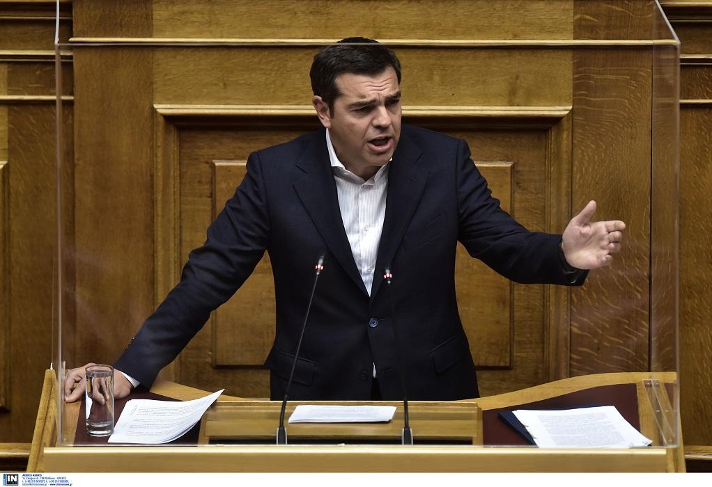 Δείτε LIVE την ομιλία του Α. Τσίπρα στη Βουλή για τον Προϋπολογισμό