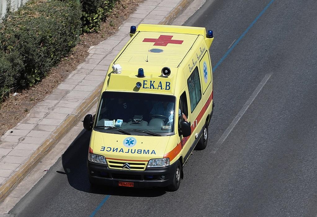 Χαλκιδική: Ένας τραυματίας μετά από ανατροπή φορτηγού στη Σωζόπολη-Κλειστή η Μουδανιών