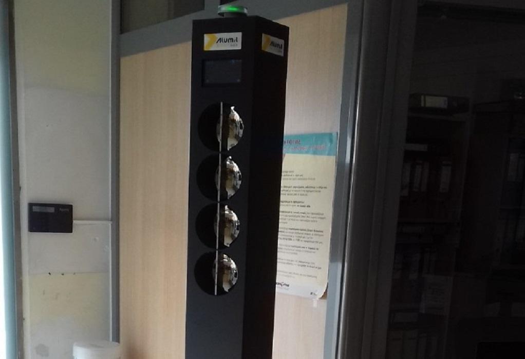 Δ. Θέρμης: Σύστημα αυτόματης θερμομέτρησης εισερχομένων στα δημοτικά κτήρια