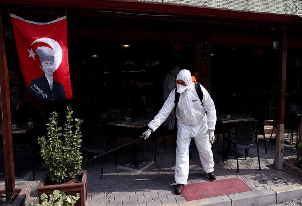 Κορωνοϊός: Ρεκόρ κρουσμάτων στην Τουρκία
